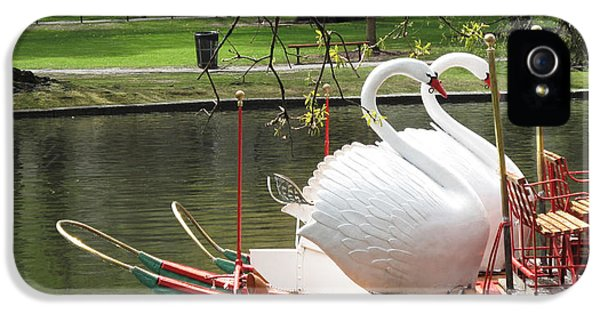 Boston Swan Boats IPhone 5s Case