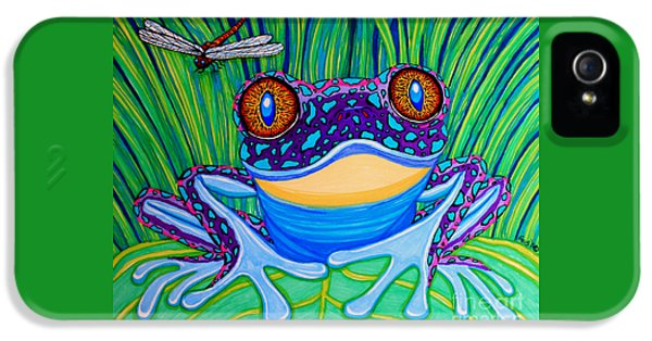 Bright Eyed Frog IPhone 5s Case