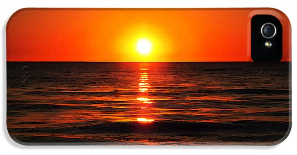 Bright Skies - Sunset Art By Sharon Cummings IPhone 5s Case
