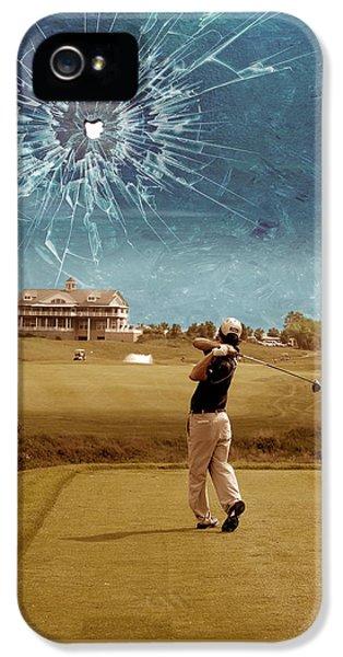 Broken Glass Sky IPhone 5s Case by Marian Voicu