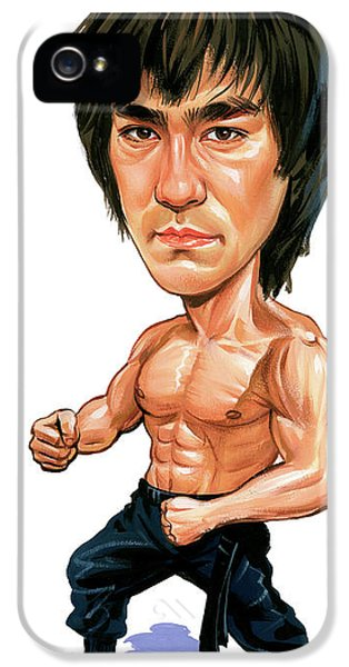 Bruce Lee IPhone 5s Case