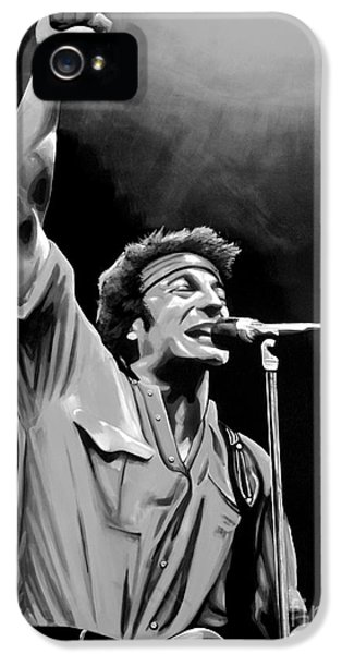 Bruce Springsteen IPhone 5s Case by Meijering Manupix