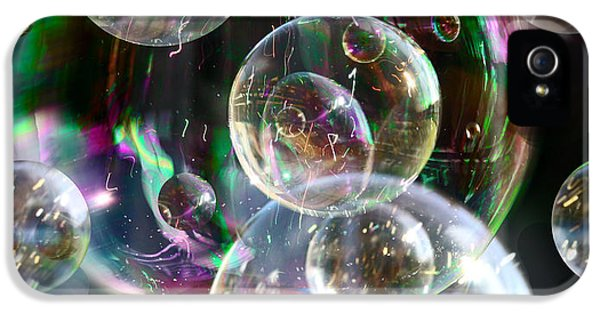 IPhone 5s Case featuring the photograph Bubbles And More Bubbles by Nareeta Martin