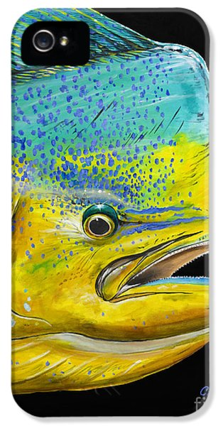 Bull Head Off0033 IPhone 5s Case by Carey Chen