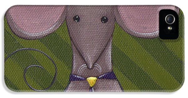 Business Mouse IPhone 5s Case by Christy Beckwith