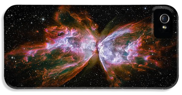 Butterfly Nebula Ngc6302 IPhone 5s Case by Adam Romanowicz