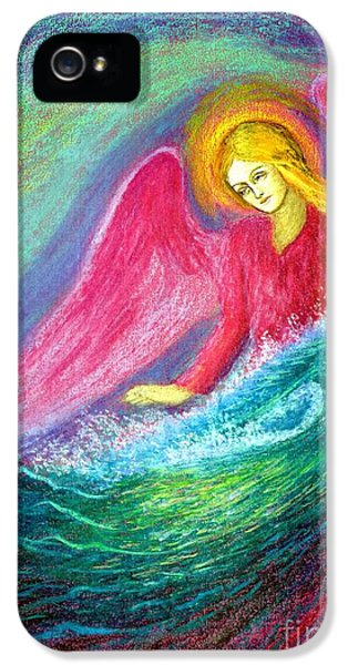 Figurative iPhone 5s Case - Calming Angel by Jane Small