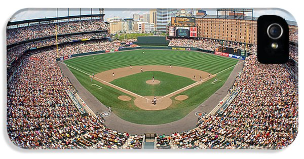 Oriole iPhone 5s Case - Camden Yards Baltimore Md by Panoramic Images