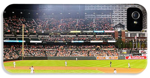 Oriole iPhone 5s Case - Camden Yards by Mike Baltzgar