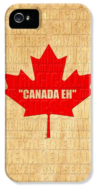 Canada Music 1 IPhone 5s Case