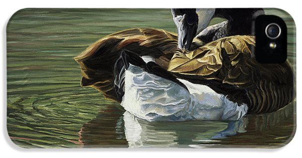 Canadian Goose IPhone 5s Case by Lucie Bilodeau