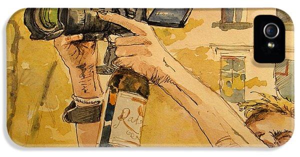 Beer iPhone 5s Case - Canon Eos Street by Juan  Bosco