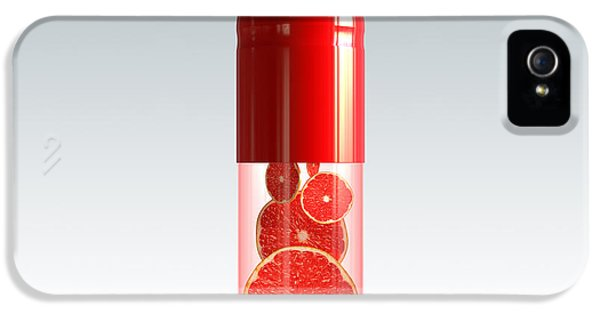 Capsule With Citrus Fruit IPhone 5s Case by Johan Swanepoel