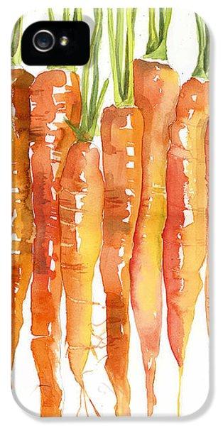 Carrot Bunch Art Blenda Studio IPhone 5s Case