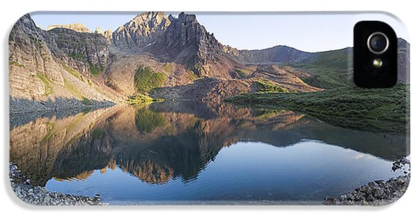 Cathedral Lake Reflection IPhone 5s Case by Aaron Spong