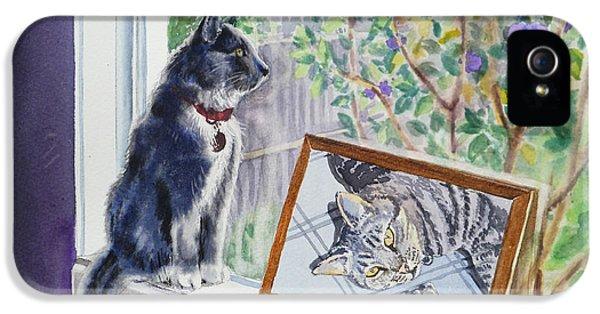 Cats And Mice Sweet Memories IPhone 5s Case by Irina Sztukowski