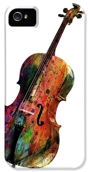 Saxophone iPhone 5s Case - Cello by Mark Ashkenazi