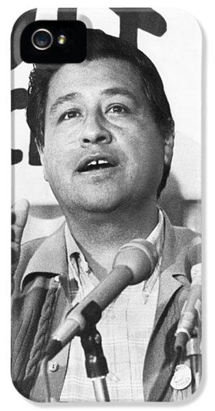 Cesar Chavez Announces Boycott IPhone 5s Case by Underwood Archives