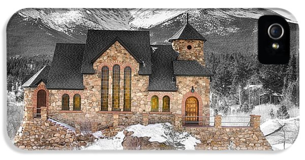 Chapel On The Rock Bwsc IPhone 5s Case by James BO  Insogna