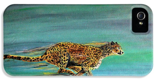 Cheetah Run IPhone 5s Case