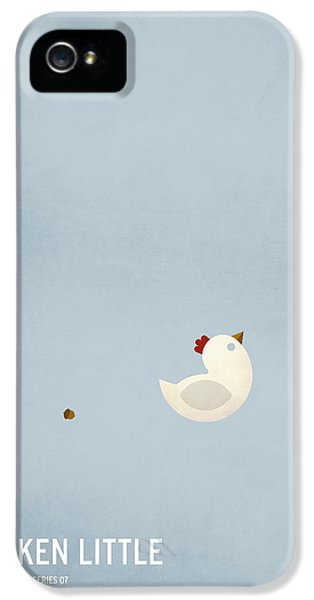 Chicken Little IPhone 5s Case by Christian Jackson