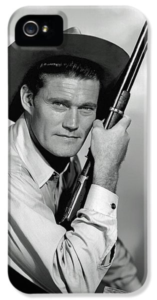Nostalgia iPhone 5s Case - Chuck Connors - The Rifleman by Mountain Dreams