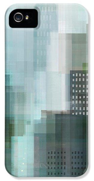 City Scenes iPhone 5s Case - City Emerald by Dan Meneely