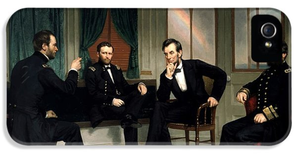 Abraham Lincoln iPhone 5s Case - Civil War Union Leaders -- The Peacemakers by War Is Hell Store