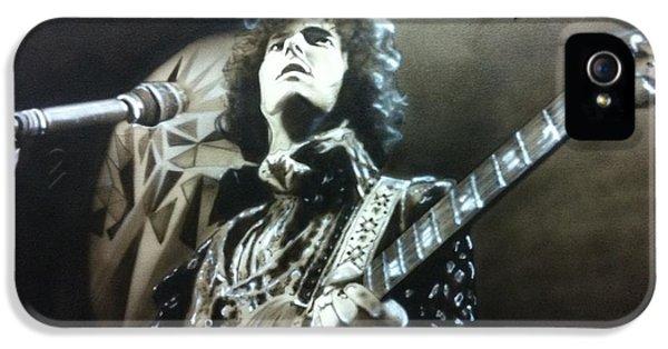 Eric Clapton - ' Clapton ' IPhone 5s Case by Christian Chapman Art