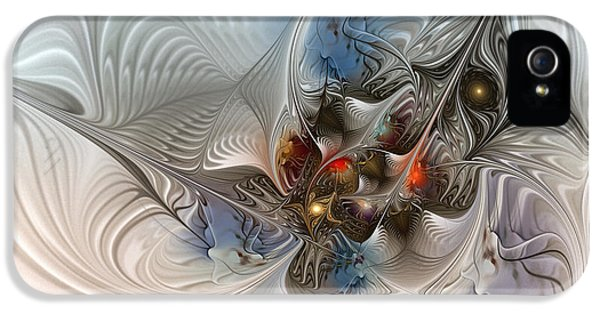 Cloud Cuckoo Land-fractal Art IPhone 5s Case by Karin Kuhlmann
