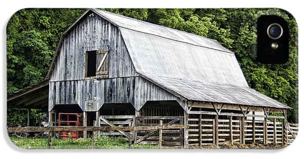 Cricket iPhone 5s Case - Clubhouse Road Barn by Cricket Hackmann