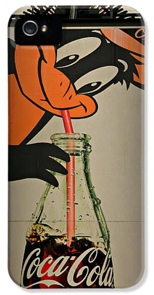 Coca Cola Orioles Sign IPhone 5s Case by Stephen Stookey