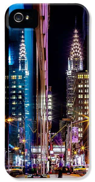 Color Of Manhattan IPhone 5s Case by Az Jackson