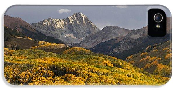 Colorado 14er Capitol Peak IPhone 5s Case by Aaron Spong