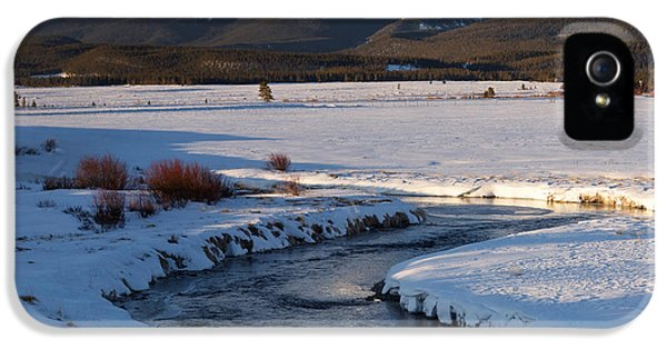 Colorado 14er Mt. Elbert IPhone 5s Case by Aaron Spong