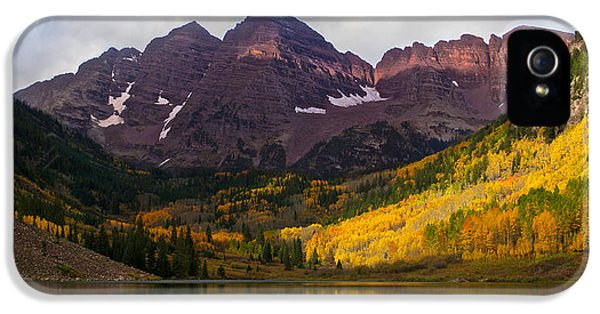 Colorado 14ers The Maroon Bells IPhone 5s Case
