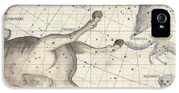 Pegasus iPhone 5s Case - Constellation Of Pegasus by Sir James Thornhill