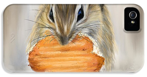 Cookie Time- Squirrel Eating A Cookie IPhone 5s Case