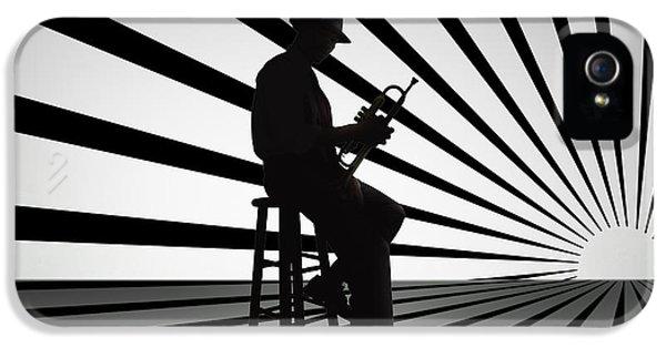 Cool Jazz 2 IPhone 5s Case by Bedros Awak