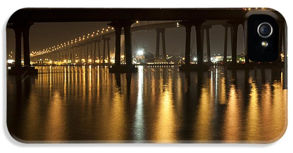 Coronado Bridge At Night IPhone 5s Case