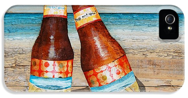 Beer iPhone 5s Case - Couples Thearap by Danny Phillips