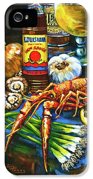 Crawfish Fixin's IPhone 5s Case