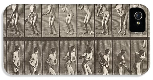 Cricketer IPhone 5s Case by Eadweard Muybridge