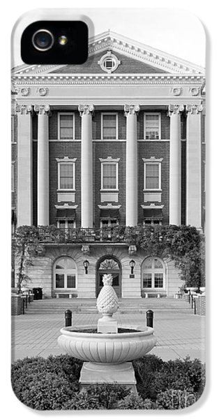 Culinary Institute Of America Roth Hall IPhone 5s Case by University Icons