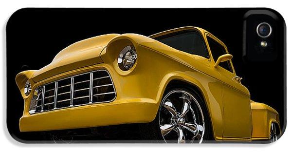 Truck iPhone 5s Case - Cut '55 by Douglas Pittman