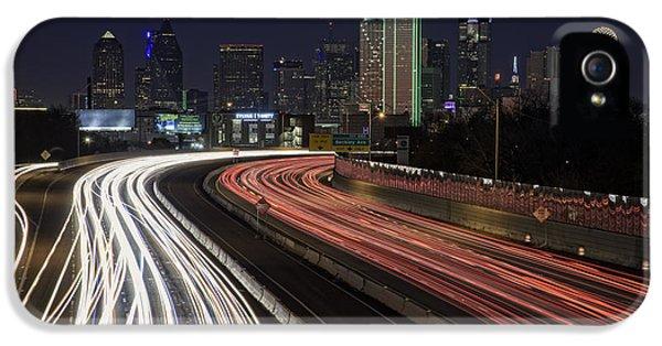 Dallas Night IPhone 5s Case by Rick Berk