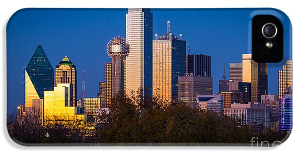 Dallas Skyline IPhone 5s Case by Inge Johnsson