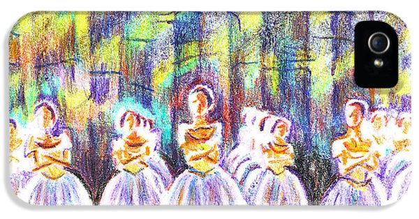 Dancers In The Forest IPhone 5s Case by Kip DeVore