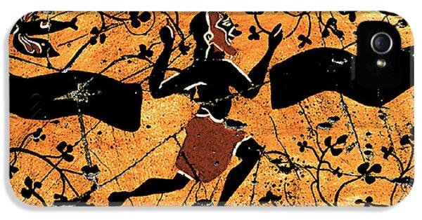 Dancing Man - Study No. 1 IPhone 5s Case