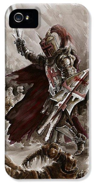 Dungeon iPhone 5s Case - Dark Crusader by Mariusz Szmerdt